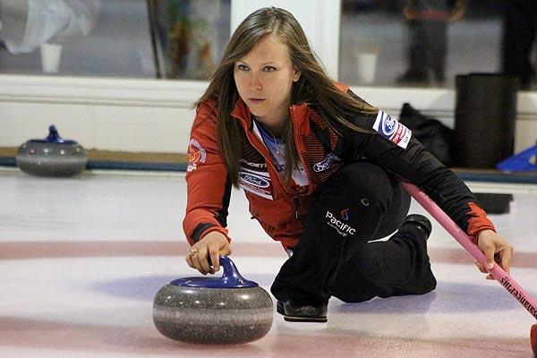 Scotties Tournament of Hearts champion Rachel Homan