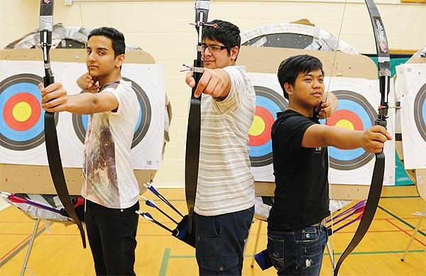 Aditya Harchand, Shaz Asher and Johnpark Reyes