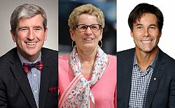 MIDTOWN MINISTERS: Glen Murray, left, takes on environment and Dr. Eric Hoskins, right, becomes health minister after Premier Kathleen Wynne named her new cabinet.