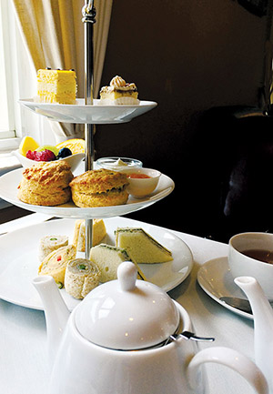 afternoon tea for one 2
