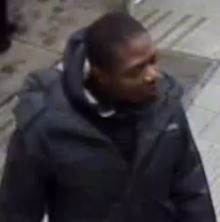 SURVEILLANCE IMAGE of suspect in Forest Hill sex assault.