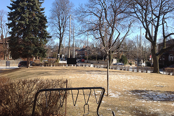 Church land to become park
