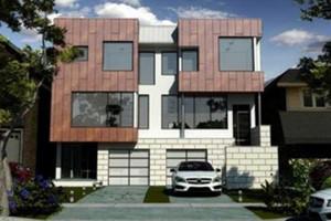 Artist's rendering of new home