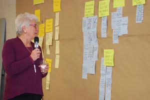 Barbara Hall reads feedback
