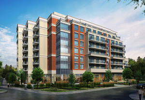 SOUTHVALE CONDOS: Planned development would put an eight-storey building next to Leaside Memorial Gardens.