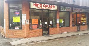 King Falafel store front