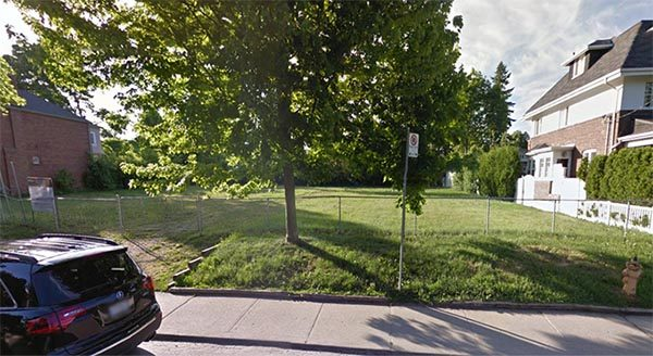 IT'S ALL OURS NOW: The city has finally bought this grassy field on Ranleigh Avenue — but don't expect a park there any time soon.