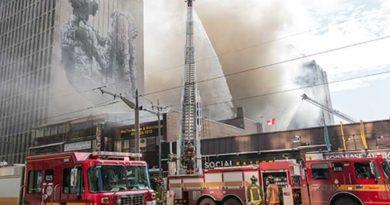 St. Clair fire photo
