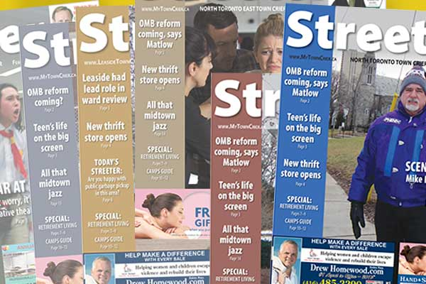 Streeter front pages