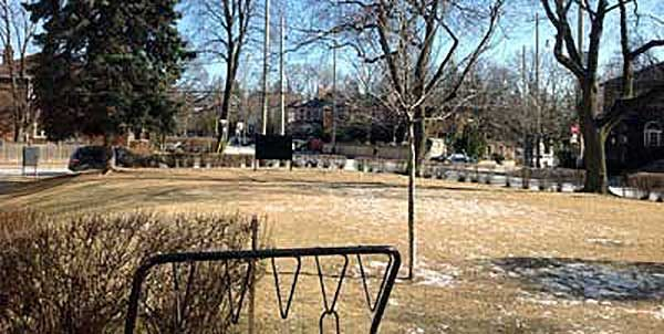 One of two sites for new Davisville parks.