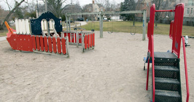 Playground at Old Orchard Park