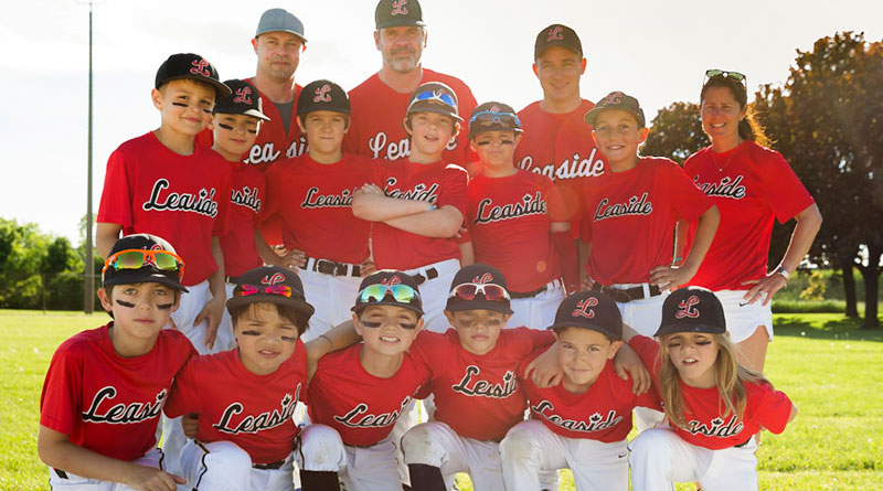 Victorious minor mosquito team