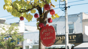 Apple Festival decorations
