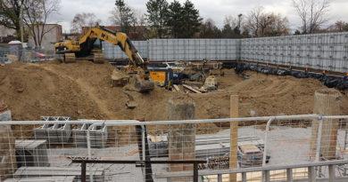 40 Erskine construction site