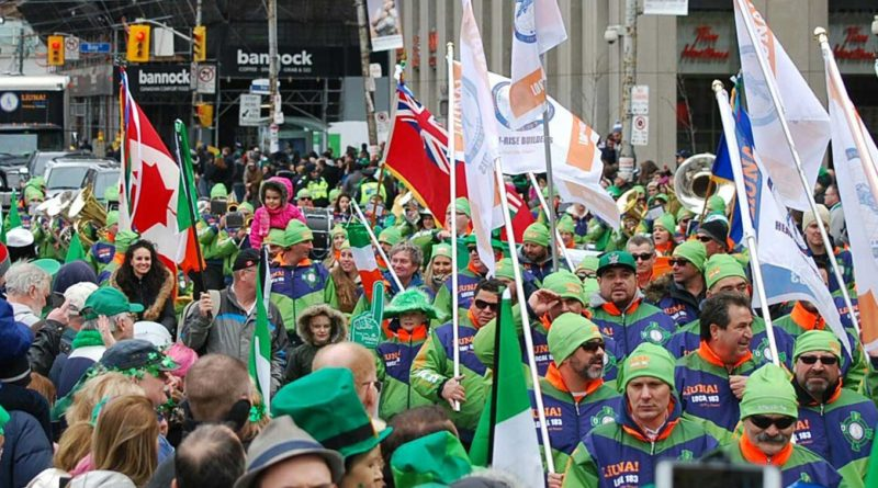 St. Patrick 's Day parade