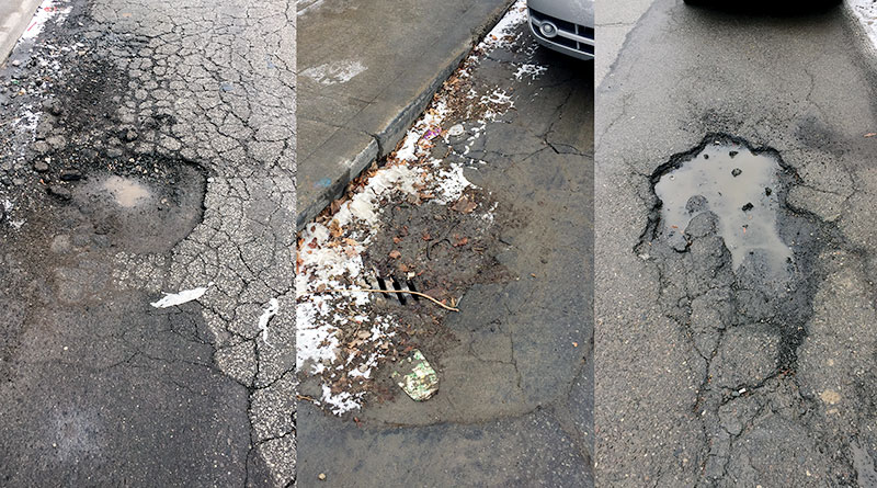 potholes pictures