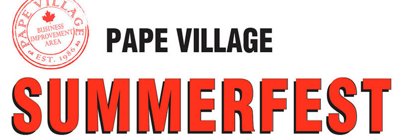 Pape Village Summerfest logo