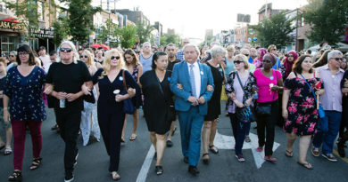 Danforth vigil
