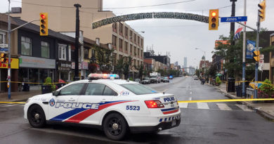 Street closed after Danforth shooting