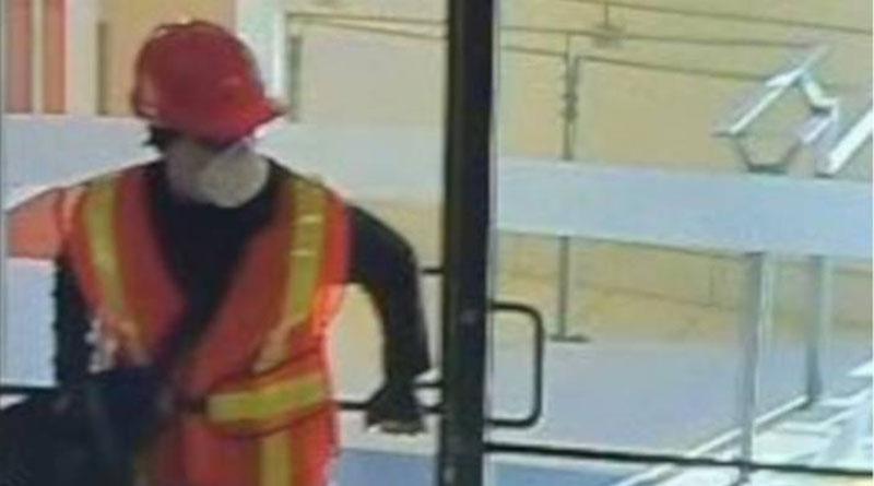 Bank robbery image