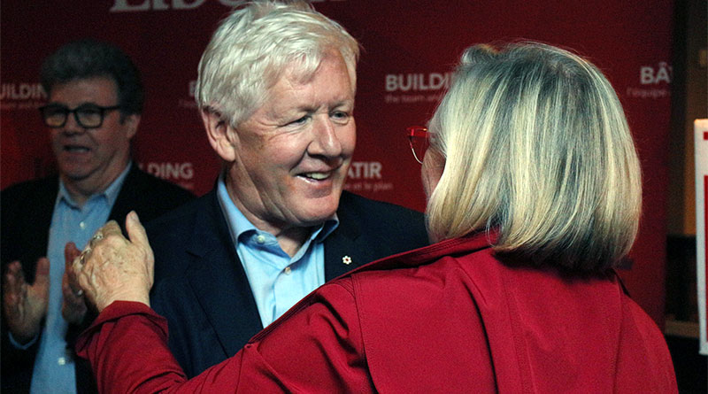 Rae at Bennett nomination meeting