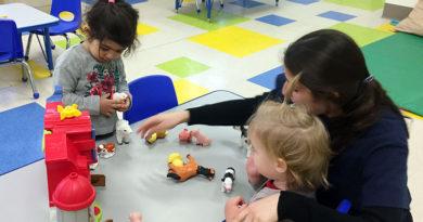 Kids at play at Kids & Company