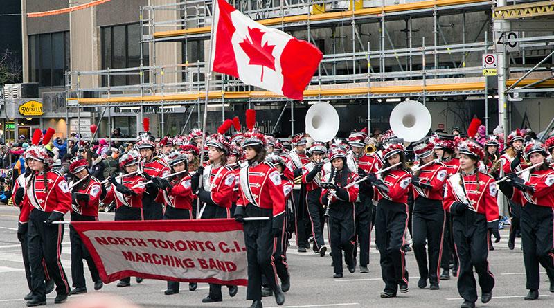 NTCI band at Santa Claus Parade