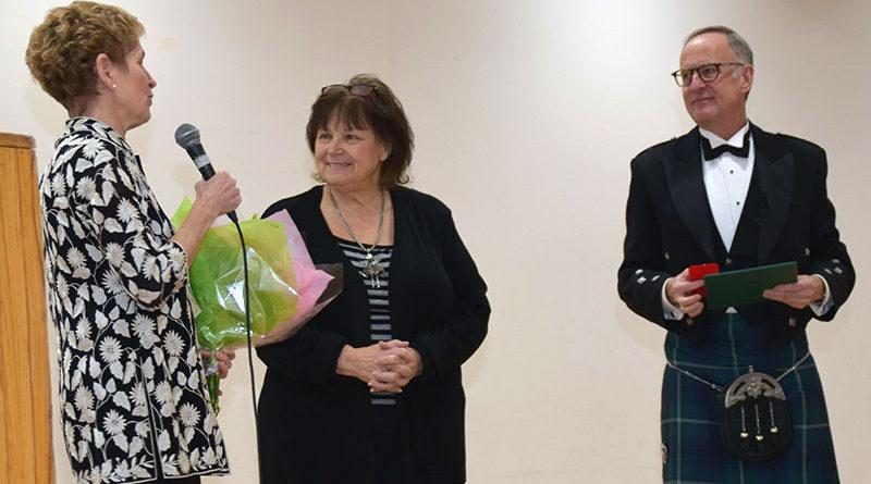 Gerson honoured at levee