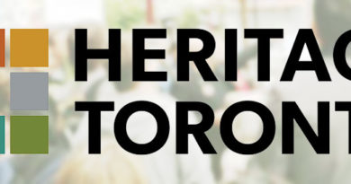 Heritage Toronto header