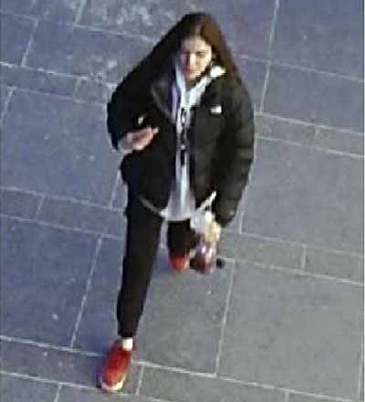 Woman sought after robbery