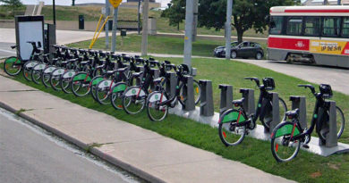 Bike Share at Neville Loop