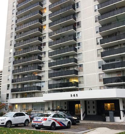 Davisville apartment building