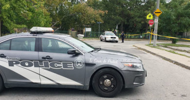 Cedarvale blocked off by police