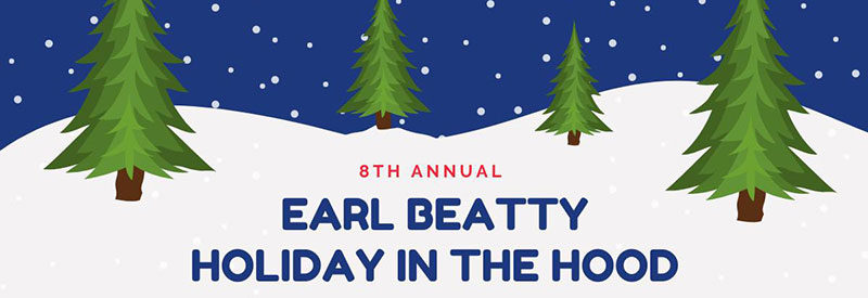 Holiday market at Earl Beatty
