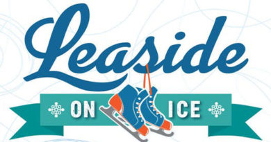Leaside on Ice logo