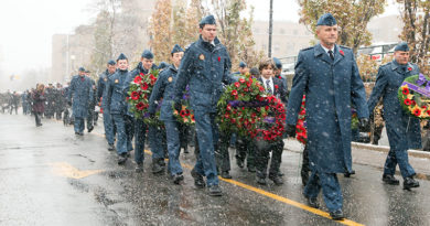 Remembrance Day at Sunnybrook