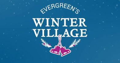 Evergreen Winter Village logo