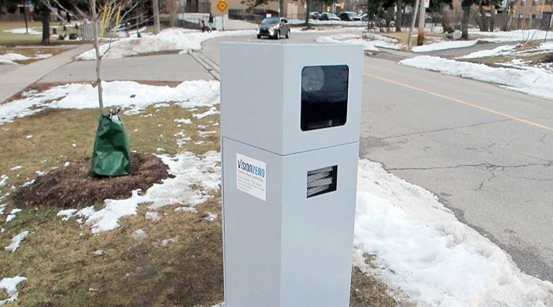 Photo radar in Scarborough