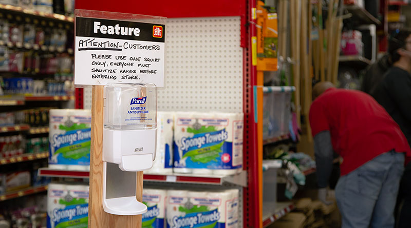 hardware store is essential service to stay open