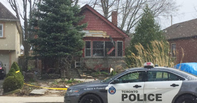 bungalow fire in East York