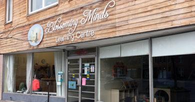 Blossoming Minds storefront on Danforth
