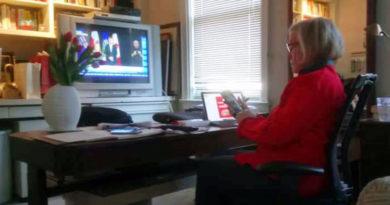 Carolyn Bennett at home