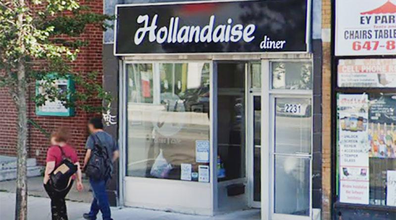 Hollandaise Diner on Danforth