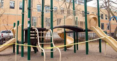 playground header for Forest Hill update