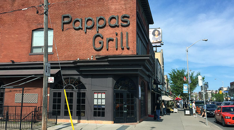 Pappas Grill sign