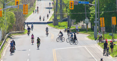 activity on ActiveTO road closure