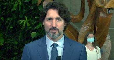 Trudeau celebrating graduation