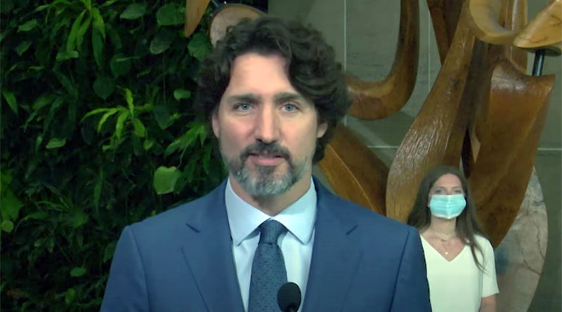 Trudeau celebrating graduation