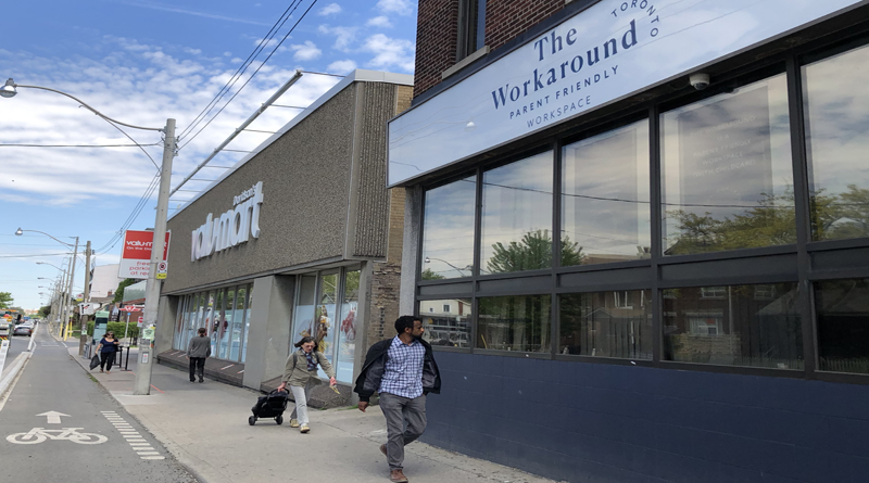 This image shows The Workaround childcare building.