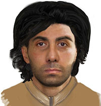 composite drawing of man sought